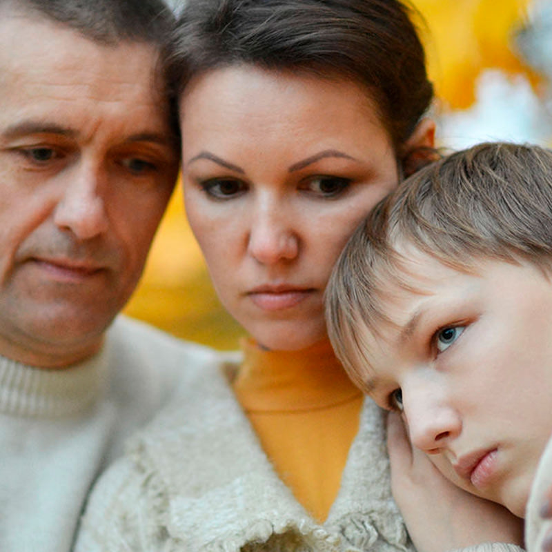 family mourning loss. TL4J wins wrongful death cases